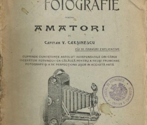 Manual de fotografie 1915 - coperta buna